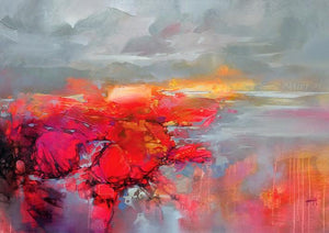 45120_C1 - titled 'Molecular Bonds 2' by artist Scott Naismith - Wall Art Print on Textured Fine Art Canvas or Paper - Digital Giclee reproduction of art painting. Red Sky Art is India's Online Art Gallery for Home Decor - 55_WDC96338