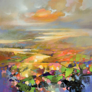 45139_C1 - titled 'Highland Terrain' by artist Scott Naismith - Wall Art Print on Textured Fine Art Canvas or Paper - Digital Giclee reproduction of art painting. Red Sky Art is India's Online Art Gallery for Home Decor - 55_WDC98172