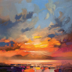 45145_C1 - titled 'Rum Light Study' by artist Scott Naismith - Wall Art Print on Textured Fine Art Canvas or Paper - Digital Giclee reproduction of art painting. Red Sky Art is India's Online Art Gallery for Home Decor - 55_WDC98214