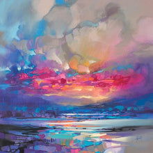 45171_C1 - titled 'Quantum Skye' by artist Scott Naismith - Wall Art Print on Textured Fine Art Canvas or Paper - Digital Giclee reproduction of art painting. Red Sky Art is India's Online Art Gallery for Home Decor - 55_WDC98333