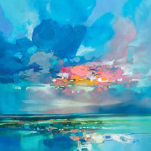 45181_C1 - titled 'Arran Blue' by artist Scott Naismith - Wall Art Print on Textured Fine Art Canvas or Paper - Digital Giclee reproduction of art painting. Red Sky Art is India's Online Art Gallery for Home Decor - 55_WDC98356