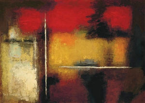 60100_C1_- titled 'Marrakesh' by artist Eric Balint - Wall Art Print on Textured Fine Art Canvas or Paper - Digital Giclee reproduction of art painting. Red Sky Art is India's Online Art Gallery for Home Decor - B1672