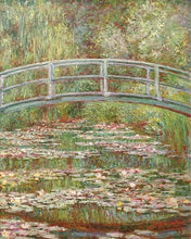 60200_C1_- titled 'Water Lily Pond, 1899 ' by artist  Claude Monet - Wall Art Print on Textured Fine Art Canvas or Paper - Digital Giclee reproduction of art painting. Red Sky Art is India's Online Art Gallery for Home Decor - M2031