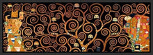 29286_FB1_- titled 'Tree Of Life Dark' by artist Gustav Klimt - Wall Art Print on Textured Fine Art Canvas or Paper - Digital Giclee reproduction of art painting. Red Sky Art is India's Online Art Gallery for Home Decor - 43_1750-0143