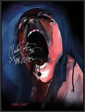 35842_FB1 - titled 'Pink Floyd The Wall (Screamer)' by artist Gerald Scarfe - Wall Art Print on Textured Fine Art Canvas or Paper - Digital Giclee reproduction of art painting. Red Sky Art is India's Online Art Gallery for Home Decor - 55_WDC100203