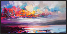 45103_FB1 - titled 'Stratocumulus' by artist Scott Naismith - Wall Art Print on Textured Fine Art Canvas or Paper - Digital Giclee reproduction of art painting. Red Sky Art is India's Online Art Gallery for Home Decor - 55_WDC93261