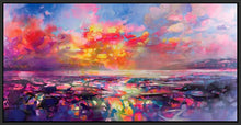 45109_FB1 - titled 'Skye Equinox' by artist Scott Naismith - Wall Art Print on Textured Fine Art Canvas or Paper - Digital Giclee reproduction of art painting. Red Sky Art is India's Online Art Gallery for Home Decor - 55_WDC93332