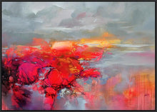 45120_FB1 - titled 'Molecular Bonds 2' by artist Scott Naismith - Wall Art Print on Textured Fine Art Canvas or Paper - Digital Giclee reproduction of art painting. Red Sky Art is India's Online Art Gallery for Home Decor - 55_WDC96338