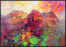45136_FB1 - titled 'Glencoe Harmonics' by artist Scott Naismith - Wall Art Print on Textured Fine Art Canvas or Paper - Digital Giclee reproduction of art painting. Red Sky Art is India's Online Art Gallery for Home Decor - 55_WDC96383
