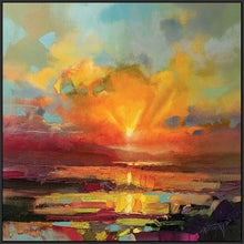 45140_FB1 - titled 'Optimism Sunrise Study' by artist Scott Naismith - Wall Art Print on Textured Fine Art Canvas or Paper - Digital Giclee reproduction of art painting. Red Sky Art is India's Online Art Gallery for Home Decor - 55_WDC98173