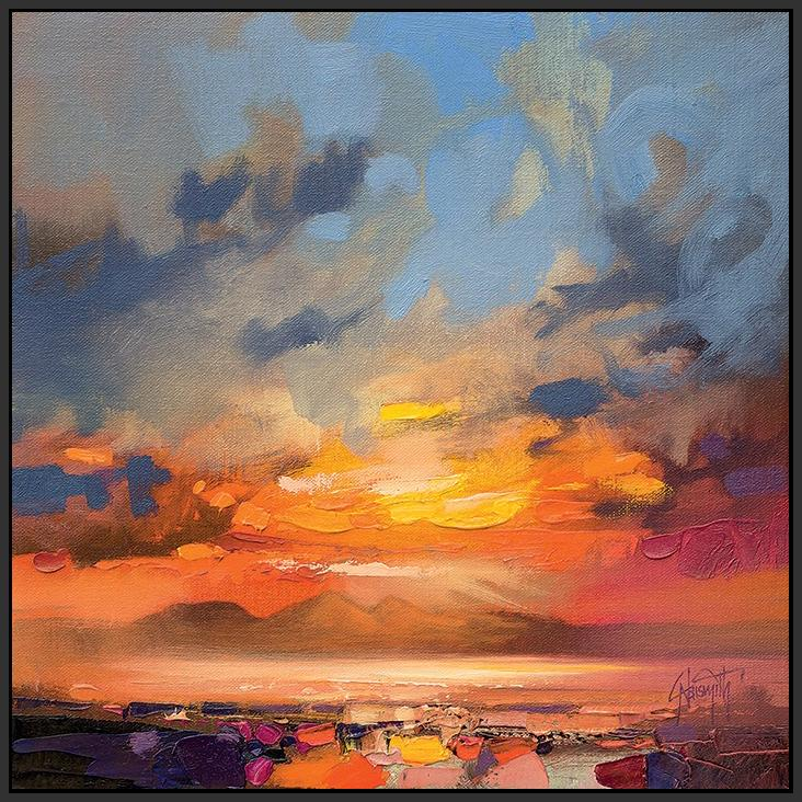 45145_FB1 - titled 'Rum Light Study' by artist Scott Naismith - Wall Art Print on Textured Fine Art Canvas or Paper - Digital Giclee reproduction of art painting. Red Sky Art is India's Online Art Gallery for Home Decor - 55_WDC98214