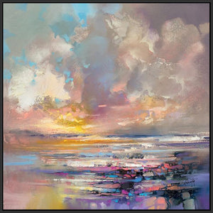 45157_FB1 - titled 'Radiant Energy' by artist Scott Naismith - Wall Art Print on Textured Fine Art Canvas or Paper - Digital Giclee reproduction of art painting. Red Sky Art is India's Online Art Gallery for Home Decor - 55_WDC98243