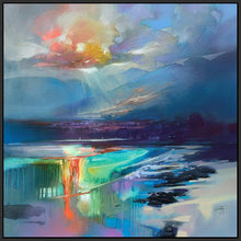 45167_FB1 - titled 'Arran Shore' by artist Scott Naismith - Wall Art Print on Textured Fine Art Canvas or Paper - Digital Giclee reproduction of art painting. Red Sky Art is India's Online Art Gallery for Home Decor - 55_WDC98329