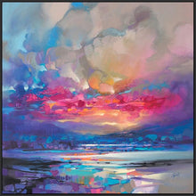 45171_FB1 - titled 'Quantum Skye' by artist Scott Naismith - Wall Art Print on Textured Fine Art Canvas or Paper - Digital Giclee reproduction of art painting. Red Sky Art is India's Online Art Gallery for Home Decor - 55_WDC98333