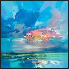 45181_FB1 - titled 'Arran Blue' by artist Scott Naismith - Wall Art Print on Textured Fine Art Canvas or Paper - Digital Giclee reproduction of art painting. Red Sky Art is India's Online Art Gallery for Home Decor - 55_WDC98356