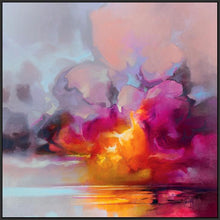 45184_FB1 - titled 'Cumulus Cluster' by artist Scott Naismith - Wall Art Print on Textured Fine Art Canvas or Paper - Digital Giclee reproduction of art painting. Red Sky Art is India's Online Art Gallery for Home Decor - 55_WDC98359