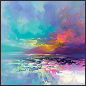 45189_FB1 - titled 'Emerging Hope' by artist Scott Naismith - Wall Art Print on Textured Fine Art Canvas or Paper - Digital Giclee reproduction of art painting. Red Sky Art is India's Online Art Gallery for Home Decor - 55_WDC98364