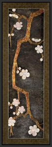 34470_FB1_- titled 'Cherry Blossom Branch II' by artist Erin Galvez - Wall Art Print on Textured Fine Art Canvas or Paper - Digital Giclee reproduction of art painting. Red Sky Art is India's Online Art Gallery for Home Decor - 761_TR4018