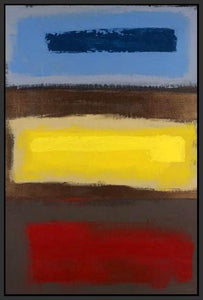 34992_FB1_- titled 'Color Field I' by artist David Morico - Wall Art Print on Textured Fine Art Canvas or Paper - Digital Giclee reproduction of art painting. Red Sky Art is India's Online Art Gallery for Home Decor - 762_TR11092