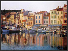35126_FB1_- titled 'Cassis' by artist Tom Swimm - Wall Art Print on Textured Fine Art Canvas or Paper - Digital Giclee reproduction of art painting. Red Sky Art is India's Online Art Gallery for Home Decor - 763_TR21066