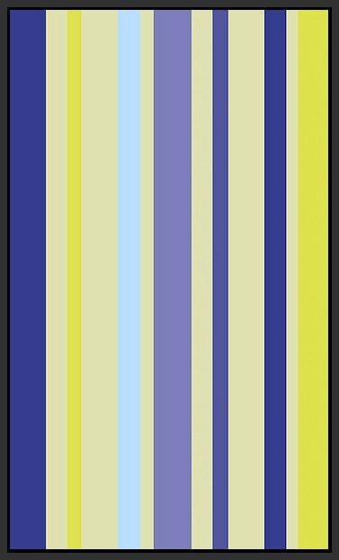 60209_FB1_- titled 'Violet Stripe' by artist Dan Bleier - Wall Art Print on Textured Fine Art Canvas or Paper - Digital Giclee reproduction of art painting. Red Sky Art is India's Online Art Gallery for Home Decor - B1801