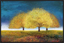 76018_FB2_- titled 'Dreaming Trio' by artist  Melissa Graves-Brown - Wall Art Print on Textured Fine Art Canvas or Paper - Digital Giclee reproduction of art painting. Red Sky Art is India's Online Art Gallery for Home Decor - 761_TR17218