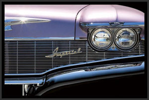 76012_FB2_- titled 'Classics Imperial 1960' by artist Kenneth Gregg - Wall Art Print on Textured Fine Art Canvas or Paper - Digital Giclee reproduction of art painting. Red Sky Art is India's Online Art Gallery for Home Decor - 761_TR7593