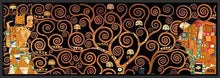 29286_FB3_- titled 'Tree Of Life Dark' by artist Gustav Klimt - Wall Art Print on Textured Fine Art Canvas or Paper - Digital Giclee reproduction of art painting. Red Sky Art is India's Online Art Gallery for Home Decor - 43_1750-0143