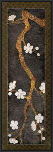 34469_FB3_- titled 'Cherry Blossom Branch I' by artist Erin Galvez - Wall Art Print on Textured Fine Art Canvas or Paper - Digital Giclee reproduction of art painting. Red Sky Art is India's Online Art Gallery for Home Decor - 761_TR4017