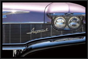 76012_FB3_- titled 'Classics Imperial 1960' by artist Kenneth Gregg - Wall Art Print on Textured Fine Art Canvas or Paper - Digital Giclee reproduction of art painting. Red Sky Art is India's Online Art Gallery for Home Decor - 761_TR7593