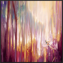 60006_FB3_- titled 'Nebulous Forest' by artist  Gill Bustamante - Wall Art Print on Textured Fine Art Canvas or Paper - Digital Giclee reproduction of art painting. Red Sky Art is India's Online Art Gallery for Home Decor - B4363