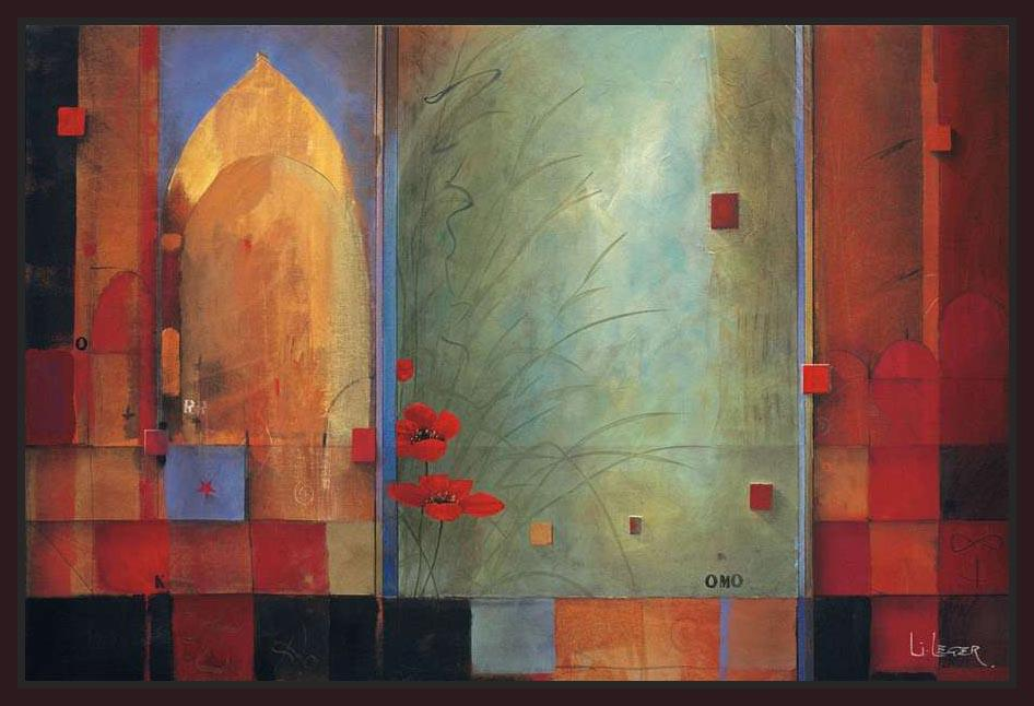 222043_FD1 'Passage to India' by artist Don Li-Leger - Wall Art Print on Textured Fine Art Canvas or Paper - Digital Giclee reproduction of art painting. Red Sky Art is India's Online Art Gallery for Home Decor - 111_8841