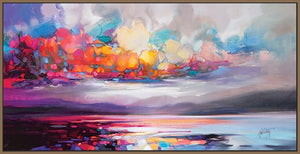 45103_FN1 - titled 'Stratocumulus' by artist Scott Naismith - Wall Art Print on Textured Fine Art Canvas or Paper - Digital Giclee reproduction of art painting. Red Sky Art is India's Online Art Gallery for Home Decor - 55_WDC93261