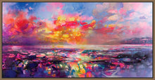 45109_FN1 - titled 'Skye Equinox' by artist Scott Naismith - Wall Art Print on Textured Fine Art Canvas or Paper - Digital Giclee reproduction of art painting. Red Sky Art is India's Online Art Gallery for Home Decor - 55_WDC93332