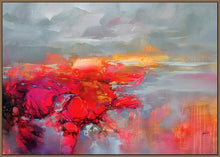 45120_FN1 - titled 'Molecular Bonds 2' by artist Scott Naismith - Wall Art Print on Textured Fine Art Canvas or Paper - Digital Giclee reproduction of art painting. Red Sky Art is India's Online Art Gallery for Home Decor - 55_WDC96338