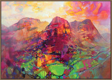45136_FN1 - titled 'Glencoe Harmonics' by artist Scott Naismith - Wall Art Print on Textured Fine Art Canvas or Paper - Digital Giclee reproduction of art painting. Red Sky Art is India's Online Art Gallery for Home Decor - 55_WDC96383