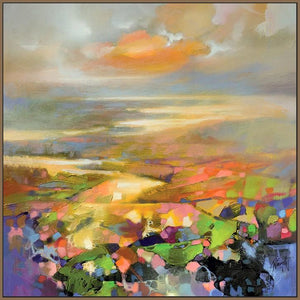 45139_FN1 - titled 'Highland Terrain' by artist Scott Naismith - Wall Art Print on Textured Fine Art Canvas or Paper - Digital Giclee reproduction of art painting. Red Sky Art is India's Online Art Gallery for Home Decor - 55_WDC98172