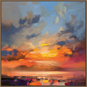 45145_FN1 - titled 'Rum Light Study' by artist Scott Naismith - Wall Art Print on Textured Fine Art Canvas or Paper - Digital Giclee reproduction of art painting. Red Sky Art is India's Online Art Gallery for Home Decor - 55_WDC98214