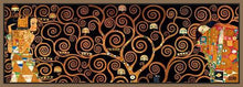 29286_FN2_- titled 'Tree Of Life Dark' by artist Gustav Klimt - Wall Art Print on Textured Fine Art Canvas or Paper - Digital Giclee reproduction of art painting. Red Sky Art is India's Online Art Gallery for Home Decor - 43_1750-0143