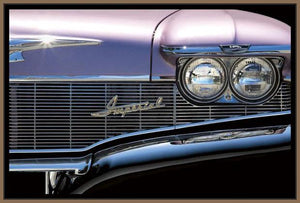 76012_FN2_- titled 'Classics Imperial 1960' by artist Kenneth Gregg - Wall Art Print on Textured Fine Art Canvas or Paper - Digital Giclee reproduction of art painting. Red Sky Art is India's Online Art Gallery for Home Decor - 761_TR7593