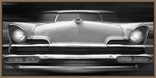 60260_FN2_- titled 'Lincoln Continental' by artist Richard James - Wall Art Print on Textured Fine Art Canvas or Paper - Digital Giclee reproduction of art painting. Red Sky Art is India's Online Art Gallery for Home Decor - J635