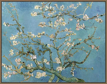 60241_FN2_- titled 'Almond Blossom, 1890' by artist Vincent van Gogh - Wall Art Print on Textured Fine Art Canvas or Paper - Digital Giclee reproduction of art painting. Red Sky Art is India's Online Art Gallery for Home Decor - V401