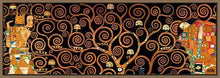 29286_FN3_- titled 'Tree Of Life Dark' by artist Gustav Klimt - Wall Art Print on Textured Fine Art Canvas or Paper - Digital Giclee reproduction of art painting. Red Sky Art is India's Online Art Gallery for Home Decor - 43_1750-0143