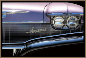 76012_FN3_- titled 'Classics Imperial 1960' by artist Kenneth Gregg - Wall Art Print on Textured Fine Art Canvas or Paper - Digital Giclee reproduction of art painting. Red Sky Art is India's Online Art Gallery for Home Decor - 761_TR7593