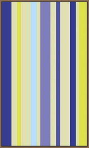 60209_FN3_- titled 'Violet Stripe' by artist Dan Bleier - Wall Art Print on Textured Fine Art Canvas or Paper - Digital Giclee reproduction of art painting. Red Sky Art is India's Online Art Gallery for Home Decor - B1801