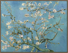 60241_FN3_- titled 'Almond Blossom, 1890' by artist Vincent van Gogh - Wall Art Print on Textured Fine Art Canvas or Paper - Digital Giclee reproduction of art painting. Red Sky Art is India's Online Art Gallery for Home Decor - V401