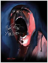 35842_FW1 - titled 'Pink Floyd The Wall (Screamer)' by artist Gerald Scarfe - Wall Art Print on Textured Fine Art Canvas or Paper - Digital Giclee reproduction of art painting. Red Sky Art is India's Online Art Gallery for Home Decor - 55_WDC100203