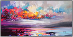 45103_FW1 - titled 'Stratocumulus' by artist Scott Naismith - Wall Art Print on Textured Fine Art Canvas or Paper - Digital Giclee reproduction of art painting. Red Sky Art is India's Online Art Gallery for Home Decor - 55_WDC93261
