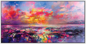 45109_FW1 - titled 'Skye Equinox' by artist Scott Naismith - Wall Art Print on Textured Fine Art Canvas or Paper - Digital Giclee reproduction of art painting. Red Sky Art is India's Online Art Gallery for Home Decor - 55_WDC93332
