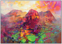45136_FW1 - titled 'Glencoe Harmonics' by artist Scott Naismith - Wall Art Print on Textured Fine Art Canvas or Paper - Digital Giclee reproduction of art painting. Red Sky Art is India's Online Art Gallery for Home Decor - 55_WDC96383